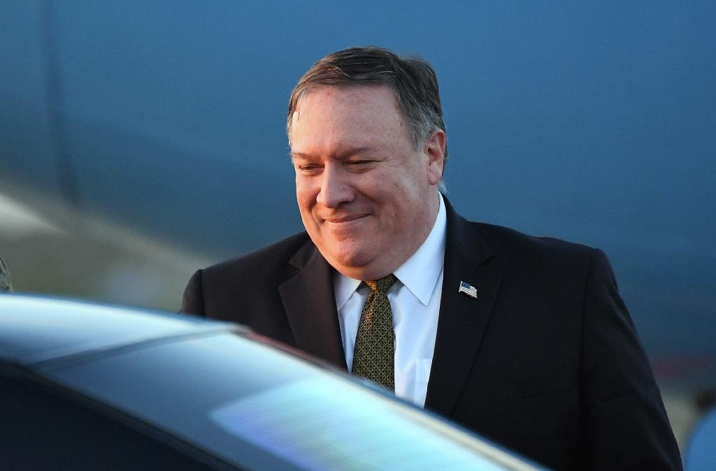 US Secretary of State Mike Pompeo said he held 'productive' talks with Kim Jong Un in Pyongyang (AFP Photo/Jung Yeon-je)
