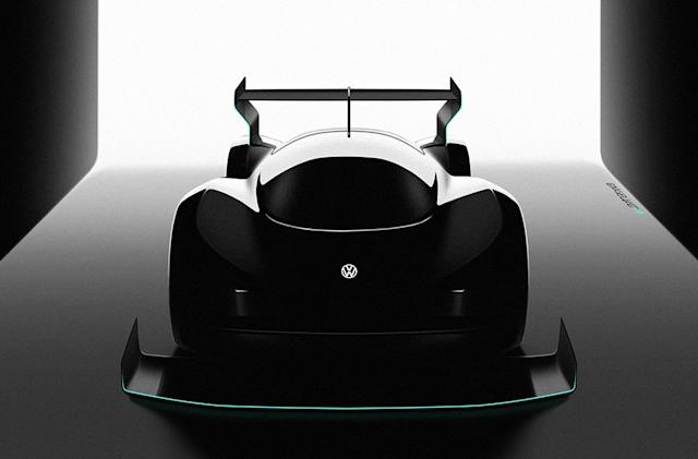 Volkswagen is building an electric supercar to tackle Pikes Peak