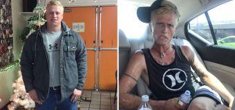 Devastadora transformación de un joven adicto