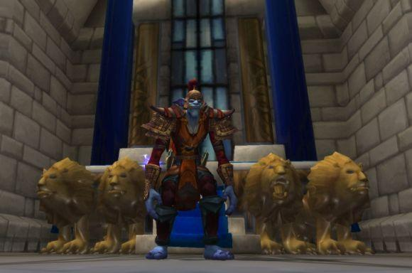 Around Azeroth: Watch the throne