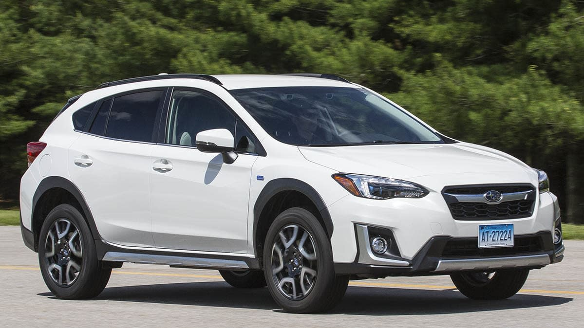 2019 Subaru Crosstrek Hybrid Offers Electric-Only Driving