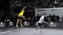 Great Dane sets badminton record for world's fastest smash (Video)