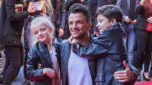 Peter Andre Bans Children Princess And Junior From Using Social Media Around Him
