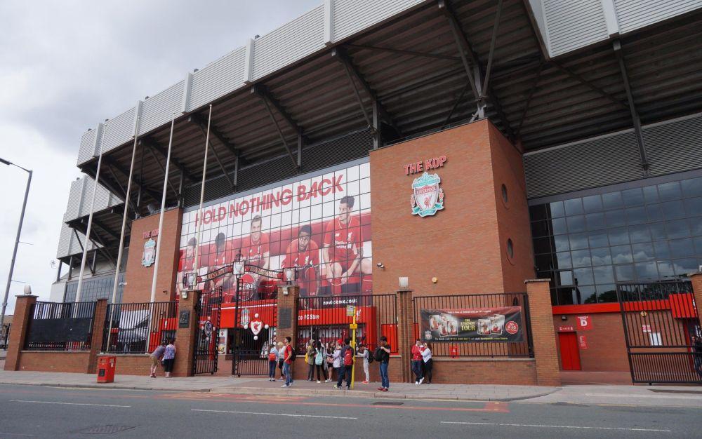 Anfield stadium - www.alamy.com