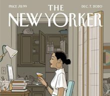 New Yorker Cover Goes Viral Because It's 'So Damn Relatable' For 2020