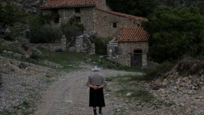 'We are the fools who stayed': The elderly couple who live in Spain's population desert