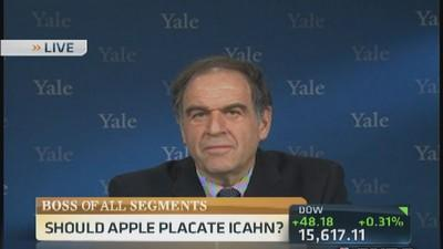 Should Cook placate Icahn?