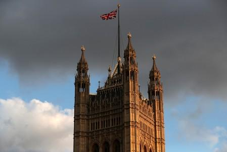 Britain's Houses of Parliament is pictured in London