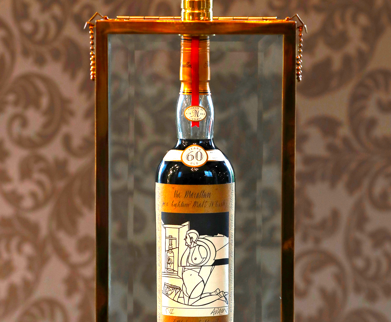 A bottle of 'The Holy Grail of Whisky' sold for a record $1.1 million