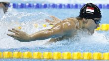 Schooling ends Big 12 swim meet with 3rd record-breaking performance