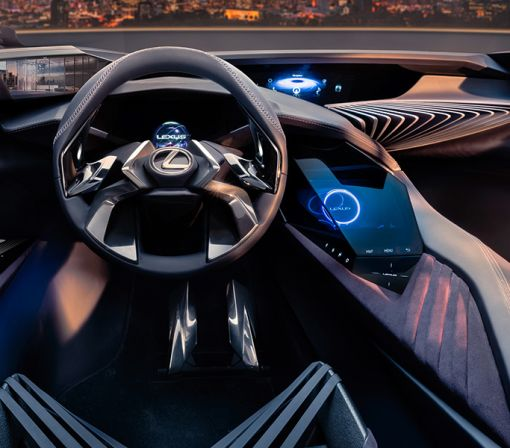 Lexus's New UX Concept Is Packed with Holographic Displays