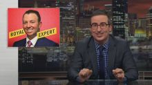 John Oliver accuses fake royal expert of being too British