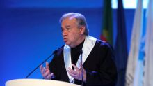 U.N. chief urges global rules for cyber warfare