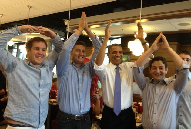 "A member of Mitt Romney's staff tweeted this image of President mispelt first attempt with the caption: ""A word of advice to @BarackObama: it's 'O-H-I-O' that has 18 electoral votes, not 'O-I-H-O'"