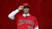 Shohei Ohtani allows homer, shows off splitter in up-and-down Angels debut