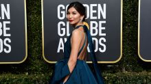 'Crazy Rich Asians' Star Gemma Chan Had A Knockout Look At The Golden Globes