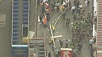 Tour Buses Crash on Busy Times Square Street