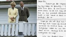 These Candid Letters from Prince Philip to Princess Diana Show That He Took Her Side in Her Divorce
