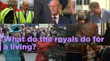What do the royals do for a living?