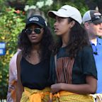 The Obama Girls Wear Matching Sarongs While Vacationing in Bali With Barack