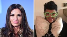 Katie Price posts picture of son Harvey with smashed iPad