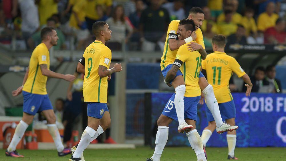 Brasil aplastó a Uruguay y puso un pie en Rusia 2018