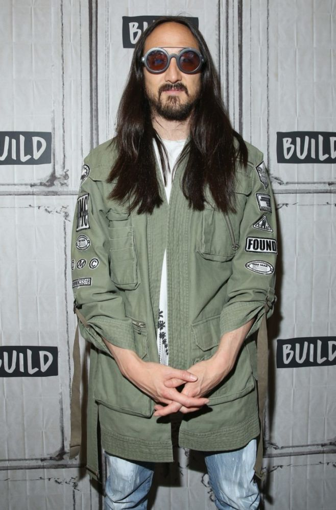 Steve Aoki attends the Steve Aoki and BUILD Series DIM MAK Collection SS18 'PARADISE FOUND' runway show and 'KOLONY' album release event at the BUILD Studio on July 18, 2017 in New York City. (Photo by JP Yim/Getty Images for BUILD Series)