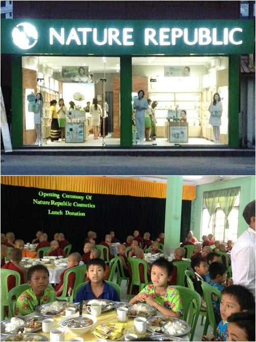 Nature Republic opens new store in Myanmar
