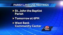 Public meetings held to discuss land use plan in St. John the Baptist Parish