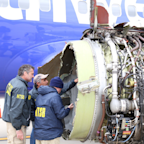 Passenger killed in Southwest engine explosion was partially sucked out of plane's broken window (LUV)