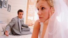 9 signos de ruptura que se ven desde la boda