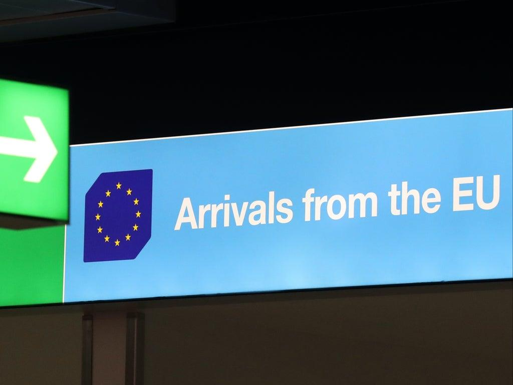 Britons to pay €7 to enter Europe – but UK government has 'no plans' for reciprocal fee