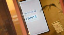 Capita raises asset sales target to above 400 million pounds