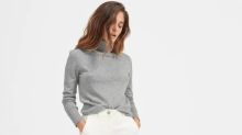 You can save big on Everlane's cashmere sweaters—but only for 36 hours