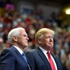 Pence quashes Trump rift reports