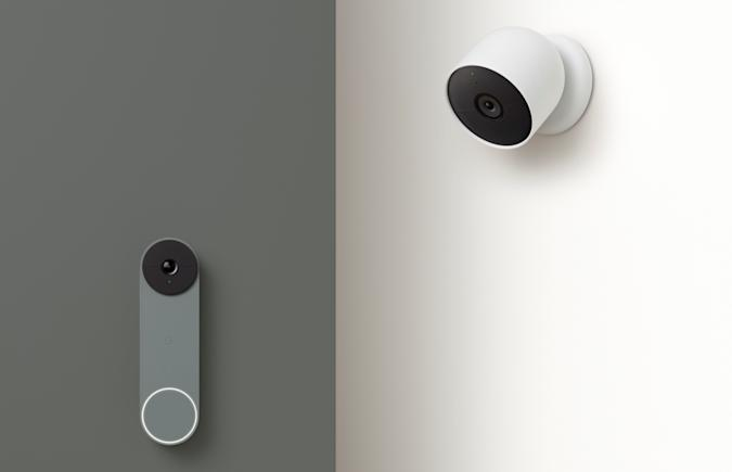 Battery-powered Google Nest Cam and Doorbell