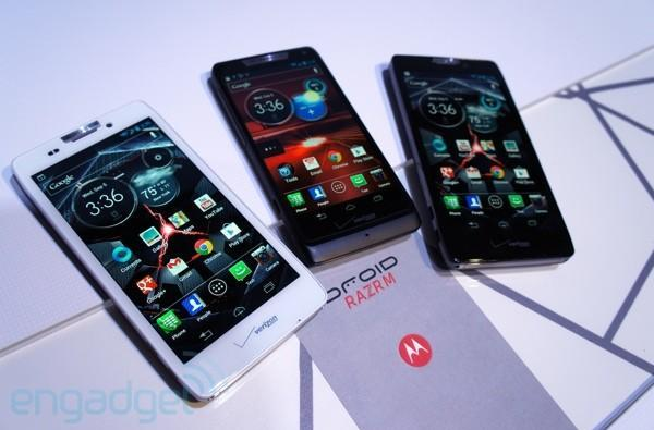 Motorola's new Droid range: Meet the Family
