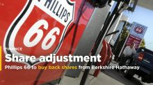 Phillips 66 to buy back 35 mln shares from Berkshire Hathaway