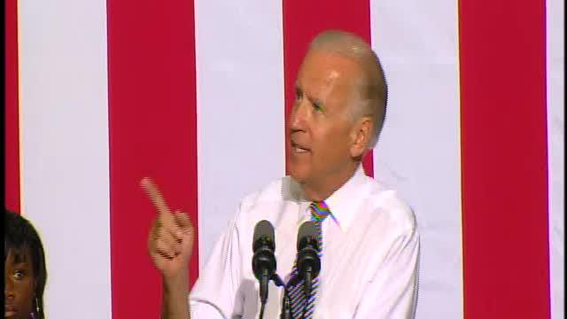 Vice President Joe Biden speaks in Detroit, part 1