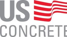 U.S. Concrete Announces First Quarter 2019 Results And Affirms Full Year Guidance