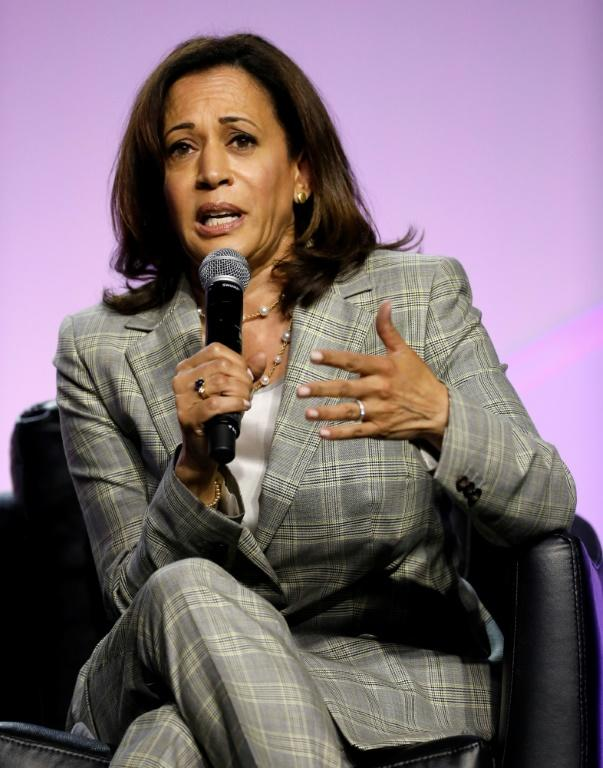Democratic opponents take aim at Kamala Harris' healthcare plan