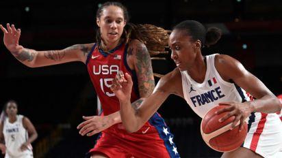 JO : les basketteuses Françaises battues par les Américaines mais qualifiées pour les quarts