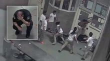 Footage Shows 3 Inmates Brutally Beating Jail Guards, Leaving 1 Unconscious