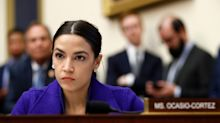 Alexandria Ocasio-Cortez slams Felicity Huffman's lenient prison sentence amid reports actress could face just 0-6 months