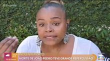 """Roberta Rodrigues lamenta morte de João Pedro: """"A escravidão não acabou"""""""