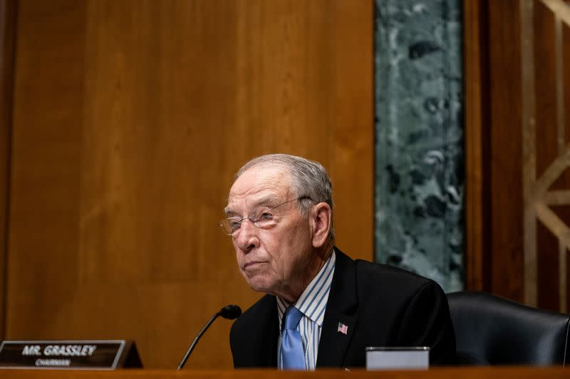 Chuck Grassley, Oldest US Senator, to Skip GOP Convention Over 'Virus Situation'