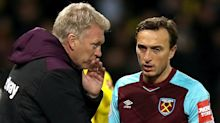 David Moyes supports Mark Noble's show of solidarity after Diangana departure