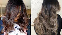 Cold brew hair: How to achieve autumn's mane trend