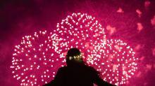 PHOTOS: New Year's celebrations light the skies around the world