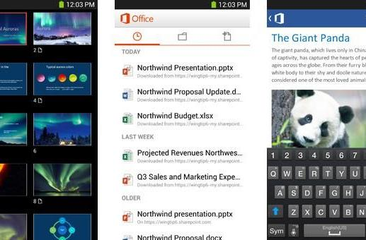 Microsoft brings Office Mobile to Android smartphones